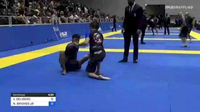 VICTOR DELIBERO vs NELSON BRIONES JR 2021 World IBJJF Jiu-Jitsu No-Gi Championship