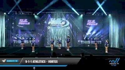 9-1-1 Athletics - Vortex [2021 L1.1 Junior - PREP - D2 Day 1] 2021 The U.S. Finals: Myrtle Beach