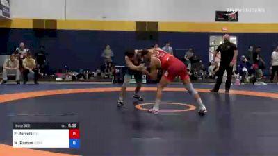 57 kg Consi Of 4 - Frank Perrelli, Titan Mercury Wrestling Club (TMWC) vs Matthew Ramos, Gopher Wrestling Club - RTC