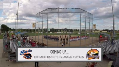 Full Replay - 2019 Chicago Bandits vs Aussie Peppers | NPF - Chicago Bandits vs Aussie Peppers | NPF - Jul 9, 2019 at 6:57 PM CDT