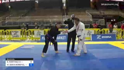BARDOMIANO MARTINEZ III vs WILLIAM DERIK MOREFIELD 2020 World Master IBJJF Jiu-Jitsu Championship