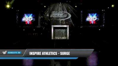 Inspire Athletics - Surge [2021 L1 Junior - D2 Day 1] 2021 The U.S. Finals: Kansas City