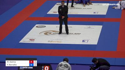 Martin Aedma vs Pedro Ramalho 2019 Abu Dhabi Grand Slam London