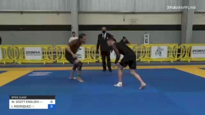 WILLIAM SCOTT ENGLISH vs ISAAC RODRIQUEZ 2021 Pan IBJJF Jiu-Jitsu No-Gi Championship
