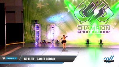 KC Elite - Caylee Corbin [2021 Junior - Solo - Jazz Day 1] 2021 CSG Dance Nationals