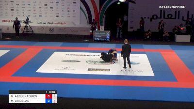 MAGOMED ABDULKADIROV vs MAX LINDBLAD Abu Dhabi World Professional Jiu-Jitsu Championship