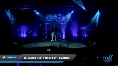 Elevation Cheer Company - Eminence [2021 L3 Senior Day 1] 2021 The U.S. Finals: Myrtle Beach