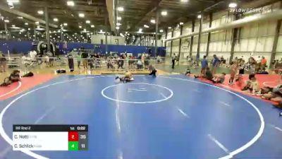 112 lbs Rr Rnd 2 - Chris Notti, Xtreme Training vs Caleb Schlick, Missouri Outlaws