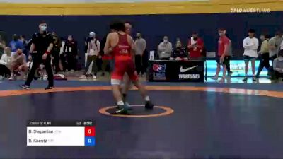 60 kg Consi Of 8 #1 - David Stepanian, New York Athletic Club vs Brady Koontz, Titan Mercury Wrestling Club (TMWC)