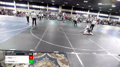 120 lbs Consi Of 32 #2 - Cody J Bello, Mountain View vs Ryder Clark, Spartan Mat Club