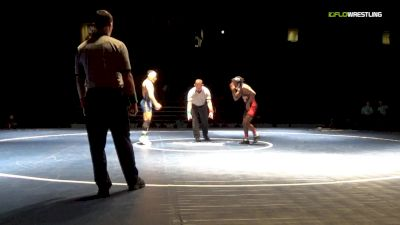 125 lbs Final - Jordan Marshall, Northwest Kansas vs Mason Naifeh, Northeast Oklahoma