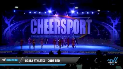 Ocala Athletix - CODE RED [2021 L3 Senior Coed - D2 - Small Day 1] 2021 CHEERSPORT National Cheerleading Championship