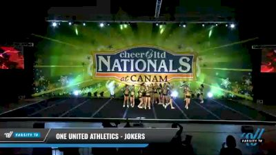 One United Athletics - Jokers [2021 L3 Senior - D2 - Small Day 2] 2021 Cheer Ltd Nationals at CANAM