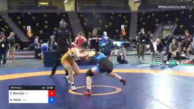 53 kg Prelims - Vanessa Ramirez, Indiana vs Alisha Howk, Sunkist Kids Wrestling Club
