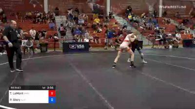 57 kg Prelims - Taylor LaMont, Sunkist Kids Wrestling Club vs Patrick Glory, New Jersey RTC