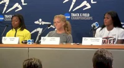 Female Athletes 2010 NCAA Outdoor Champs Press Conference