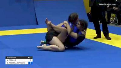 VANESSA PADILLA vs DESTINEY RACHELLE LYNN SIMMONS 2021 World IBJJF Jiu-Jitsu No-Gi Championship