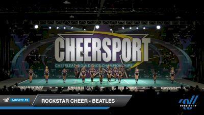 Rockstar Cheer - Beatles [2020 International Open Small Coed 6 Day 1] 2020 CHEERSPORT National Cheerleading Championship