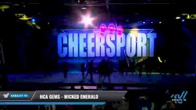 HCA Gems - Wicked Emerald [2021 L3 Junior - D2 - Medium Day 1] 2021 CHEERSPORT National Cheerleading Championship