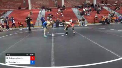 61 kg Consolation - Michael DeAugustino, Wildcat Wrestling Club vs Alex Thomsen, Nebraska Wrestling Training Center