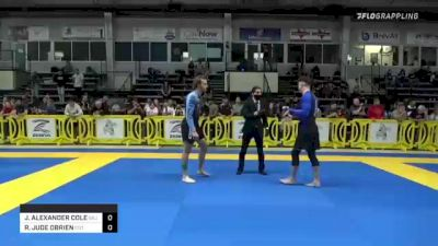 JAMES ALEXANDER COLE vs ROBERT JUDE OBRIEN 2021 Pan IBJJF Jiu-Jitsu No-Gi Championship