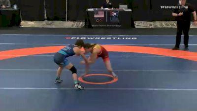53 kg Final - Ronna Heaton, Team Miracle vs Alex Hedrick, Team Hildebrandt