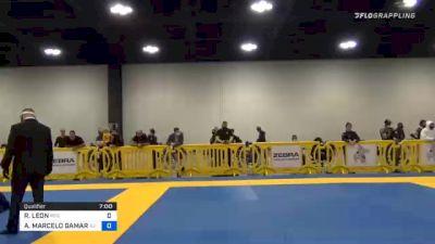 RAMIRO LEON vs ANDRE MARCELO GAMARRA 2020 Atlanta International Open IBJJF Jiu-Jitsu Championship