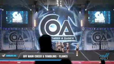 Off Main Cheer & Tumbling - Flames [2021 L2 Mini - Small Day 2] 2021 COA: Midwest National Championship
