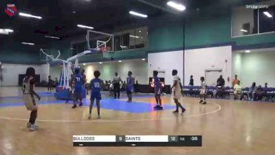SAINTS vs. BULLDOGS - 2021 AAU Boys World Championships (13U/7th Grade)