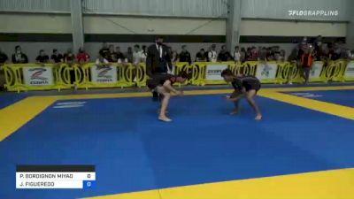 PAULO BORDIGNON MIYAO vs JOAO FIGUEREDO 2021 Pan IBJJF Jiu-Jitsu No-Gi Championship