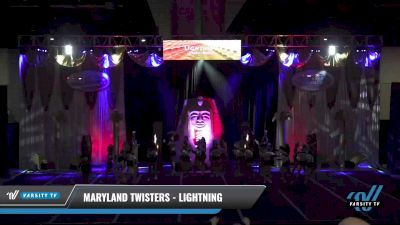 Maryland Twisters - Lightning [2021 L3 Senior - Medium Day 2] 2021 Queen of the Nile: Richmond