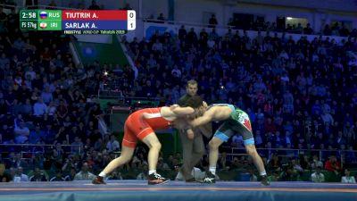 Gold - 57kg Aryan Tsiutrin (RUS) vs Alireza Sarlak (IRI)