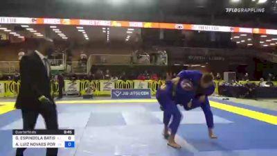 GUSTAVO ESPINDOLA BATISTA vs ANDRÉ LUIZ NOVAES PORFIRIO 2021 Pan Jiu-Jitsu IBJJF Championship