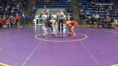 120 lbs Prelims - Joseph Triscornia, Olathe North vs Jeremiah Reno, Liberty
