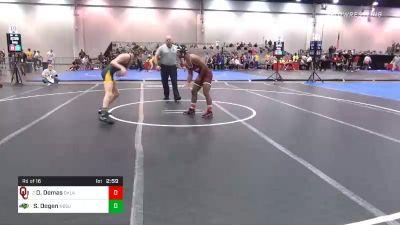 141 lbs Prelims - Dom Demas, Oklahoma vs Sawyer Degen, North Dakota