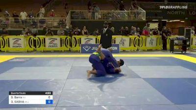 Gracie Barra vs OMAR SABHA 2021 Pan Jiu-Jitsu IBJJF Championship