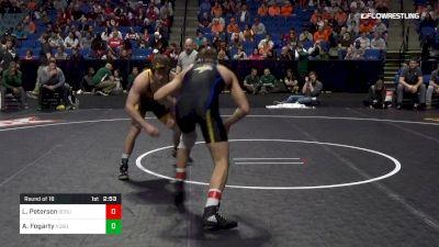 165 lbs Round Of 16 - Logan Peterson, South Dakota State vs Andrew Fogarty, North Dakota State