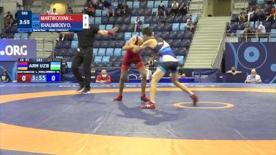 45 kg 1/4 Final - Levon Martirosyan, Armenia vs Ozodbek Khalimboev, Uzbekistan