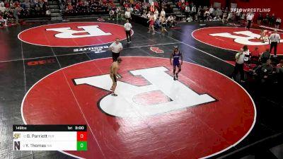 149 lbs Consolation - Griffin Parriott, Purdue vs Yahya Thomas, Northwestern