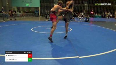 174 lbs R64 - Foster Karmon, Unattached vs Joseph Smith, Oklahoma State
