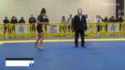 RAFAELA RIBEIRO GUEDES vs VANNESSA NANCY GRIFFIN 2020 IBJJF Pan No-Gi Championship