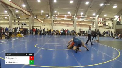Quarterfinal - Cody Howard, Virginia Tech vs Kevin Makosy, University Of Maryland Unattached
