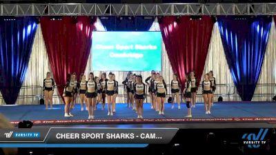Cheer Sport Sharks - Cambridge - Hammerhead Sharks [2020 L4.2 Senior - Medium Day 2] 2020 The American Majestic DI & DII
