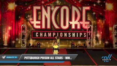 Pittsburgh Poison All Stars - Minis (Exhibition) [2021 Mini Coed - Hip Hop Day 2] 2021 Encore Championships: Pittsburgh Area DI & DII