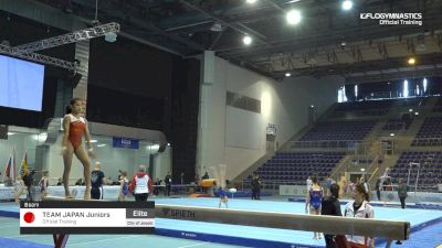 Team Japan Juniors - Beam, Official Training - 2019 City of Jesolo Trophy