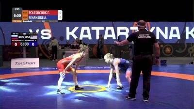 53 kg Bronze - Ekaterina Poleshuchuk, RUS vs Amy Fearnside, USA