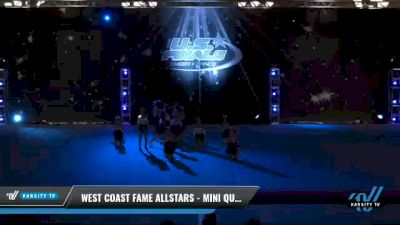 West Coast Fame Allstars - MINI QUEENS [2021 L1 Mini - Novice Day 2] 2021 The U.S. Finals: Phoenix
