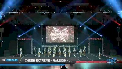 Cheer Extreme - Raleigh - SSX [2021 L6 Senior - Small Day 2] 2021 JAMfest Cheer Super Nationals