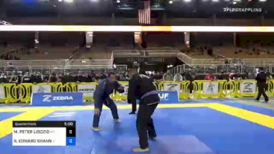 RICHARD EDWARD SHANNON vs MATTHEW PETER LIGOZIO 2020 World Master IBJJF Jiu-Jitsu Championship