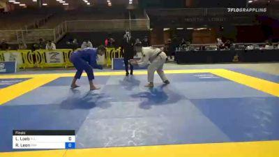 Louis Loeb vs Ramiro Leon 2020 IBJJF Orlando International Open Jiu-Jitsu Championship